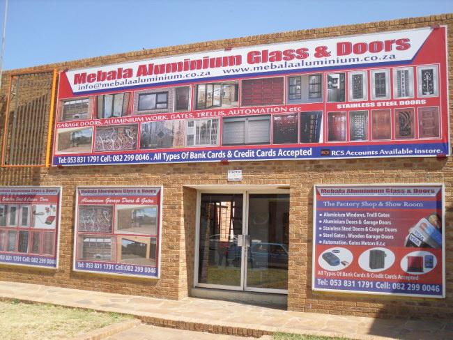 Mebala Aluminium Glass Amp Doors Kimberley Fox List